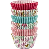 Wilton 415-8775 150 Count Floral Collection Mini Cupcake Liners