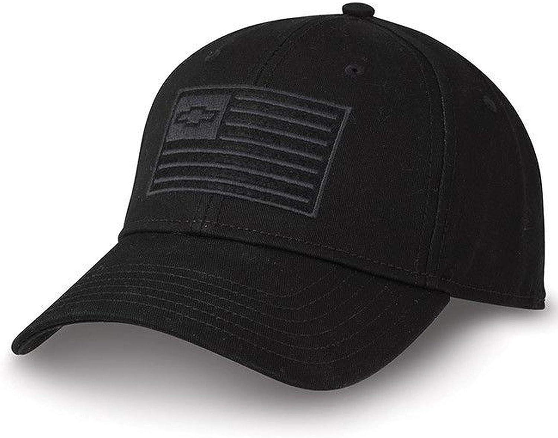 Chevy Truck 100 Year Bowtie Twill Centennial Black Vent Hat Silverado Cap Cotton