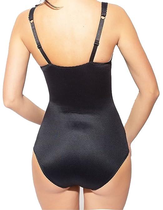 fc14c66dfc219 Burvogue Womens Plus Size Lace Firm Control Shapewear Body Briefer 16160