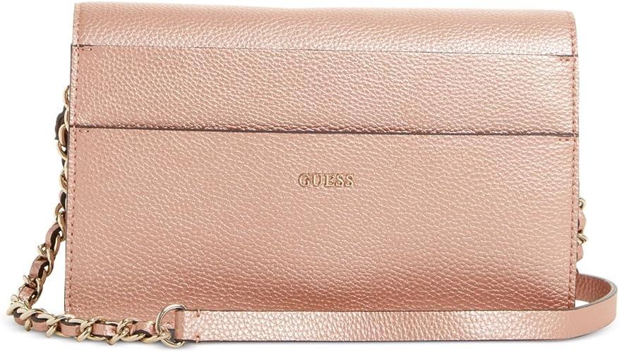 Guess , Sac bandoulière pour femme métallique rose gold: Amazon.fr ...