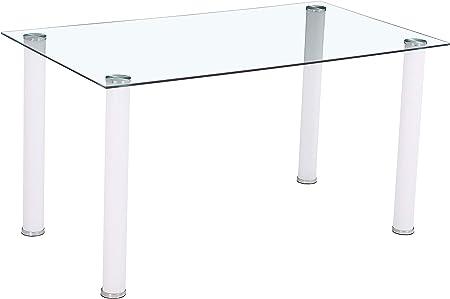 Medidas mesa comedor: 140 cm (largo) x 80 cm (ancho) x 75 cm (altura).,Estructura fuerte i resistent