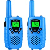 Walkie talkies for kids by KarviPack,22 channel two way radio up to use 3 Miles,Could be charged by any USB