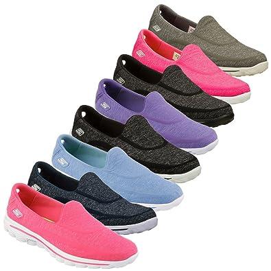 aae04f5104d Skechers Women s Gowalk 2 Super Sock Athletic Sandals  Amazon.co.uk  Shoes    Bags
