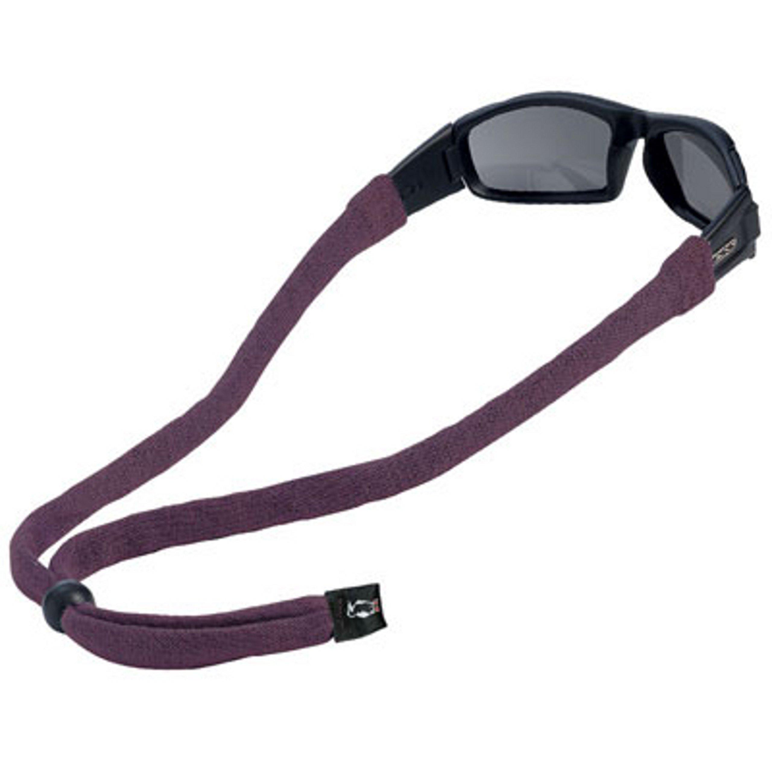 Chums Original Cotton Large End Eyewear Retainer, Dark Purple by Chums