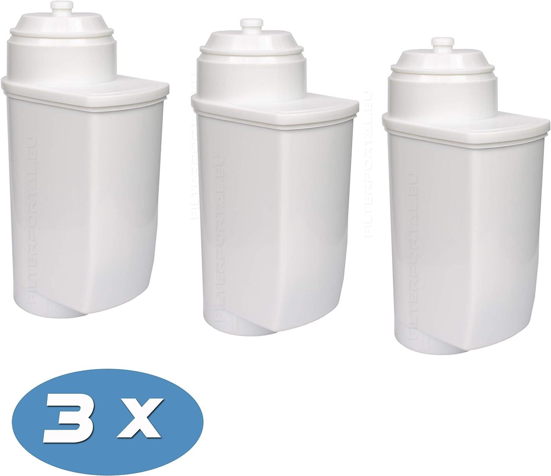 VeroCafe VeroProfessional Pack de 3 filtros de Agua descalcificadores para cafeteras autom/áticas compatibles con Brita Intenza VeroAroma VeroBar Bosch TCZ7033
