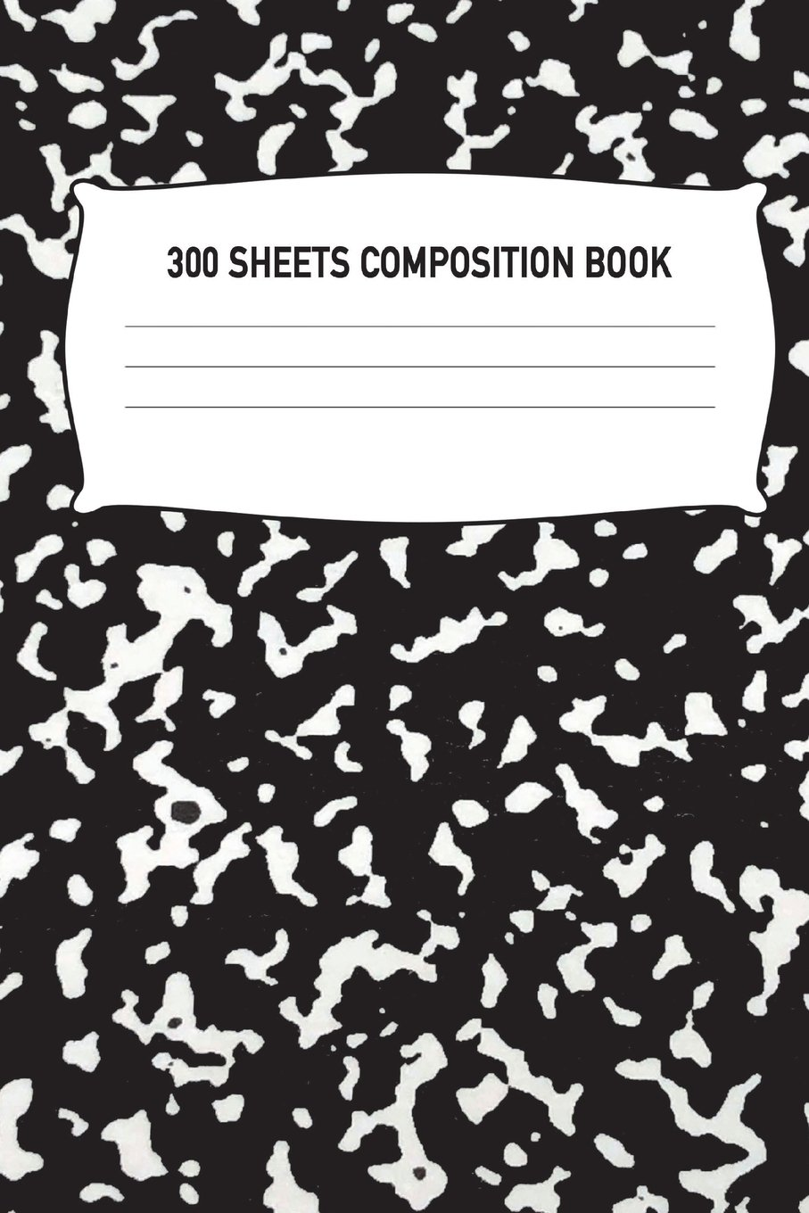 300 Sheets Composition Book: Black Wide Ruled Notebook Diary Practice Journal Organizer: Adults Kids Youth: University, High School, Kindergarten, ... x 9.69 Lined Paper 600 Pages (300 Sheets) pdf