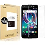 Alcatel Idol 5S Screen Protector, Vigeer [ 2 Pack ] [0.3mm, 2.5D] [Bubble-Free] [9H Hardness] [Easy Installation] [HD Clear] Tempered Glass Screen Protector for Alcatel Idol 5S