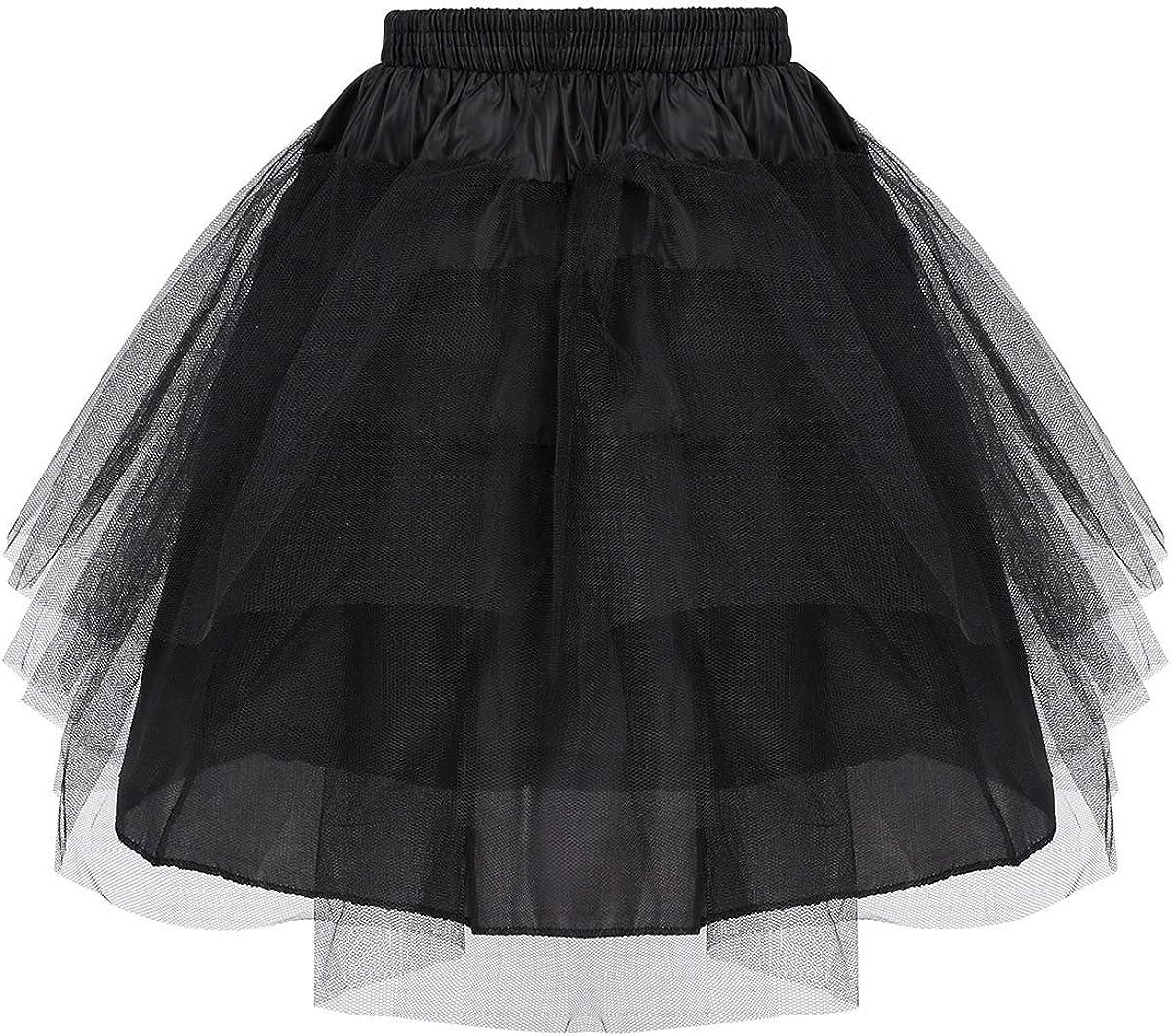 Children Crinoline Petticoat Underskirt Skirt Bridesmaid Flower Girl A-Line