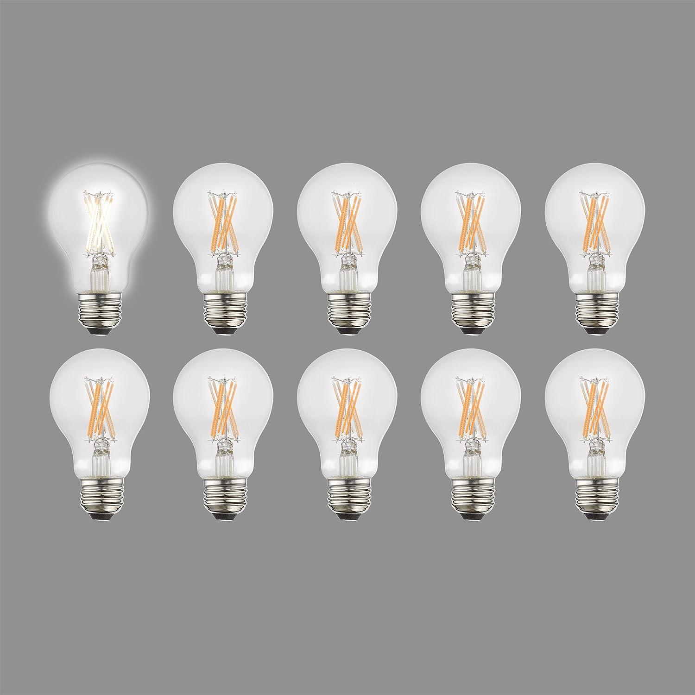 Livex Lighting 960807フィラメントLED電球、クリアガラス B07B6Q3ZVN