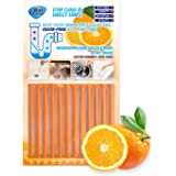 Drain Cleaner Strick ,Clean Batonnet Deodorizer Package, 12 Pack. As Seen on TV Keeps Drains Pipes Clear(Orange)