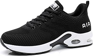 Dannto Women's Lightweight Walking Sneakers Air Cushion Tennis Athletic Running Fashion Sport Shoes for Girls
