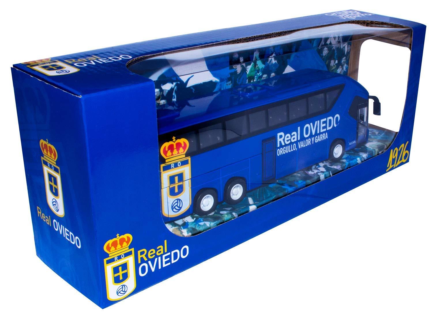 Eleven Force Autobús Real Oviedo Color Azul 10742: Amazon.es: Juguetes y juegos