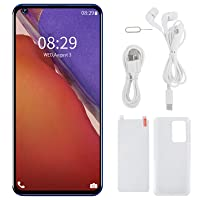 Pusokei NOTE23 PRO+ 6.82In Full Screen Phone Dual Card Dual Standby Smartphone, 2+16GB,Face Recognize Unlock Phone for Android 5.1 with Powerful Processor(Blue)