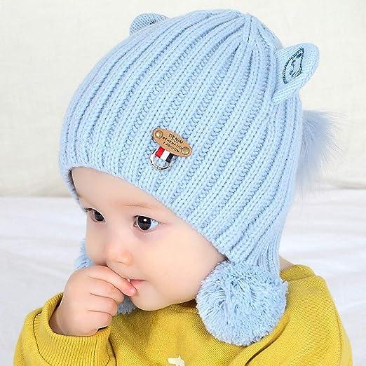 geiqianjiumai Nuevo Sombrero para bebé Bola para el Cabello Cabeza ...