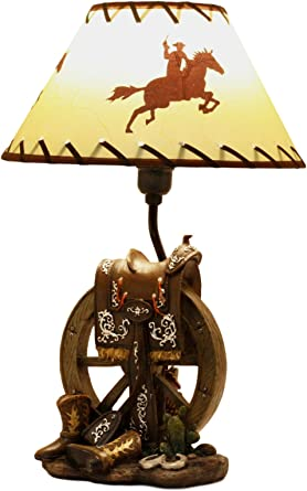 Bronze Resin Horse /& Colt Up light Lamp  Country Western  Ranch Lighting NEW!!
