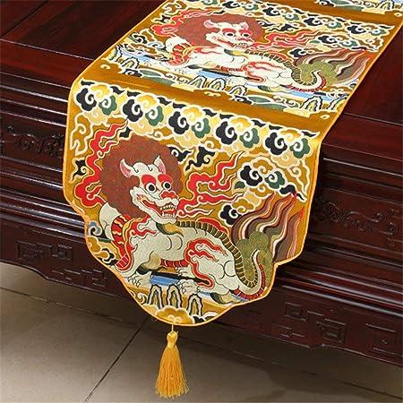 MOMO Chino Antiguo Yun Jin Minimalista Moderna Bandera de ...