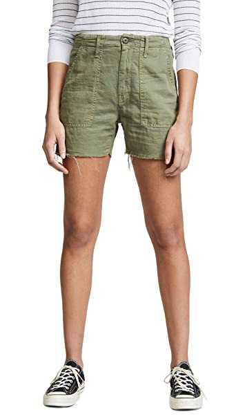 8a81f46e09890 MOTHER Women's The Shaker Chop Shorts at Amazon Women's Clothing store