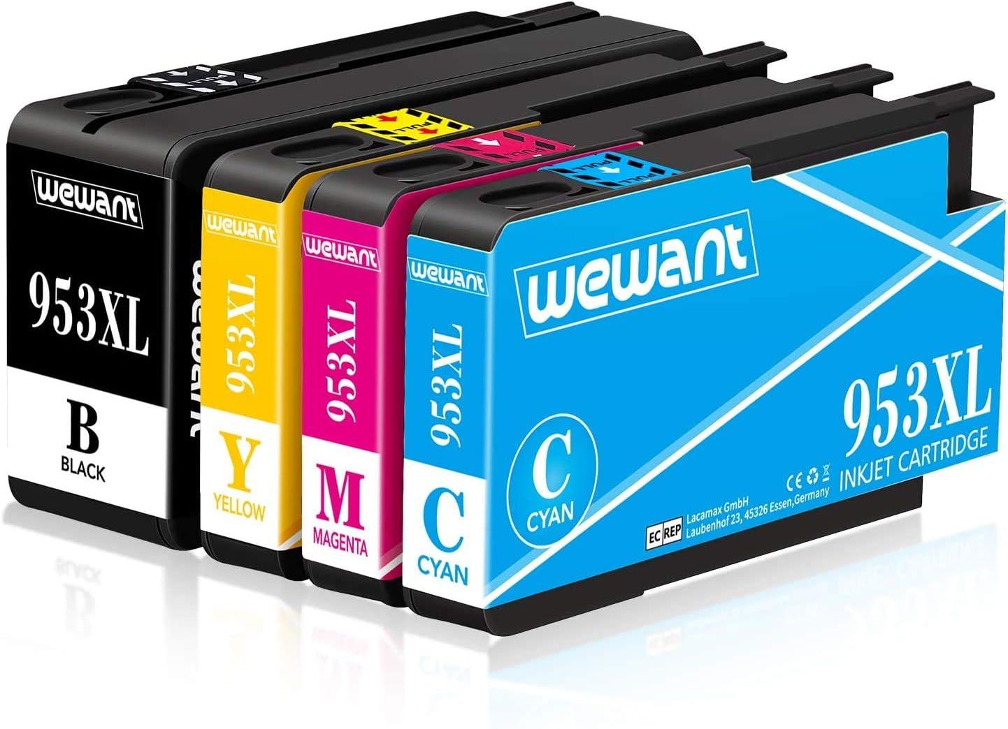 Wewant 953XL Compatible Cartuchos de tinta para usar en lugar de ...