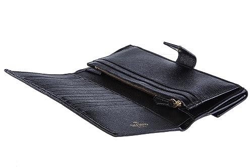 Valentino Garavani hombre monedero de la cartera en piel nuevo negro: Amazon.es: Zapatos y complementos