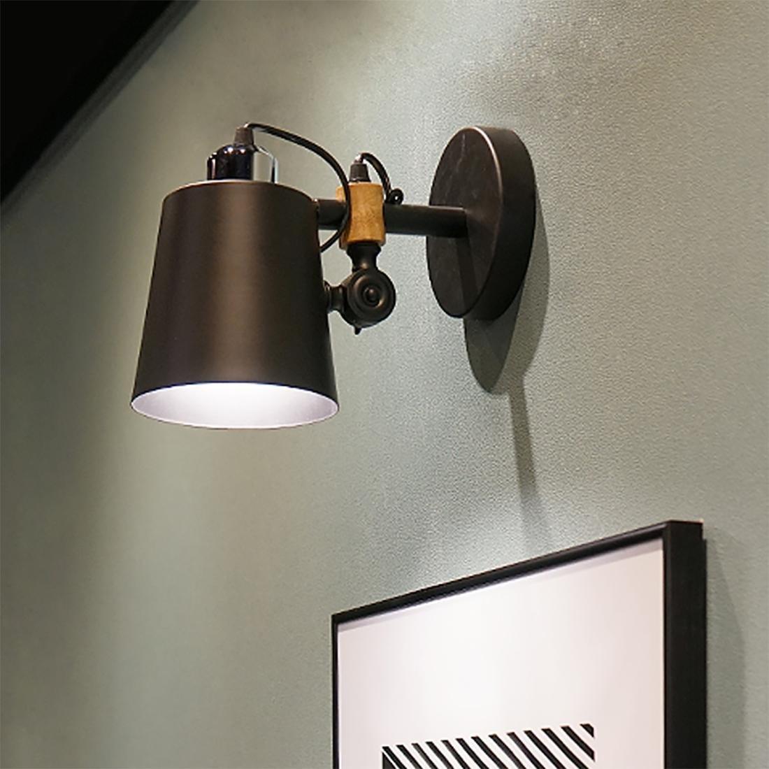 economico online BENJUNEuropa Moderno Semplice Arte Lampada da da da parete a LED Lampada da comodino Camera da letto lampada da parete Soggiorno Balcone Navata Lampade scale 17  25  15cm  in linea