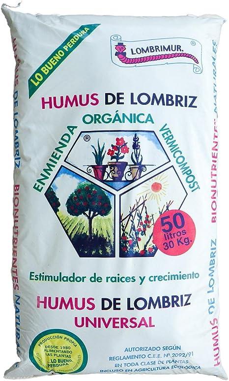 Humus de lombriz 17 L: Amazon.es: Jardín
