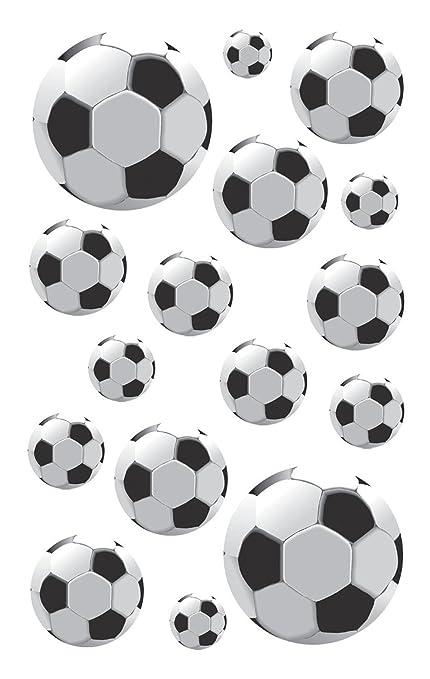 Avery Zweckform - Pegatinas para niños, diseño de balones de fútbol ...