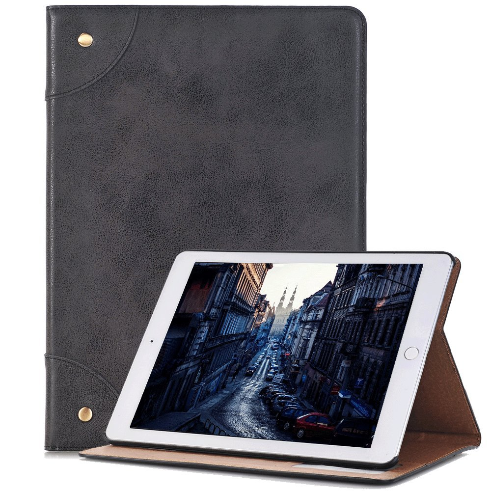 elecfan Case for iPad, Book Style Screen Protective with Smart Auto Sleep/Wake Feature Case Cover