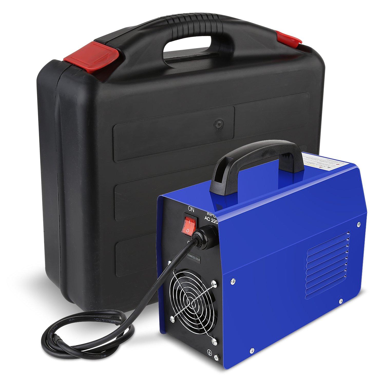 FIXKIT Máquina de Soldar Soldador de Arco Portátil Inversor DC Soldadora Inverter Adecuada para Varilla de