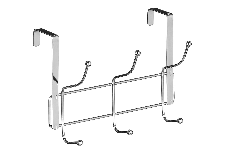 Premier Housewares - Perchero para puerta, 10 ganchos, cromo 0509729