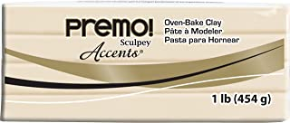 product image for Sculpey Premo Polymer Art Clay Accents, 1-Pound, Translucent (PE1 5310)