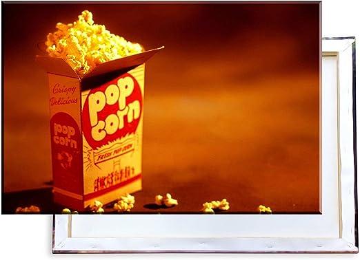 Unified Distribution Poppcorn – imágenes e Impresiones artísticas montadas Sobre Lienzo y en Calidad de impresión de Primera Clase, 100 x 70 cm: Amazon.es: Juguetes y juegos