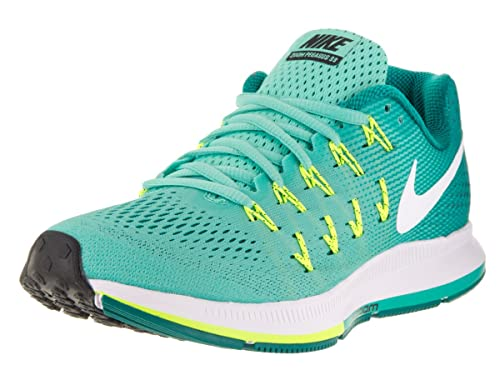 surf Disciplina Propiedad  Buy Women's Nike Air Zoom Pegasus 33 Running Shoe Hyper Turq/White/Clear  Jade Size 8.5 M US at Amazon.in