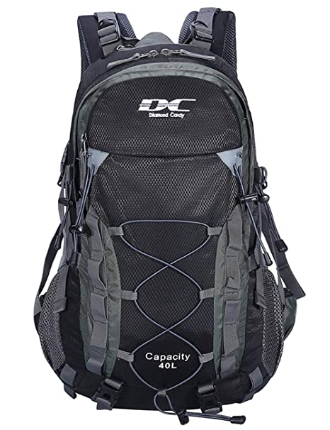 994e606d1a Diamond Candy Zaino da Trekking Outdoor Donna e Uomo con Protezione  Impermeabile per alpinismo arrampicata equitazione