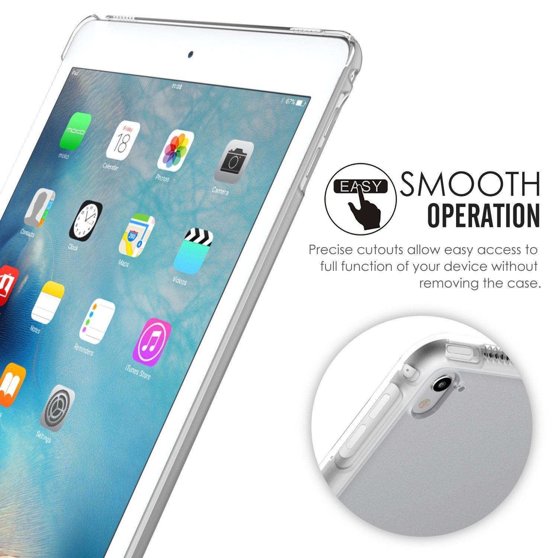 MoKo Funda para iPad Pro 9.7 - Ultra Delgado Trasera de Plástico Transparente Durable Parachoque para Apple iPad Pro 9.7 Pulgadas 2016 Tableta(no apto ...