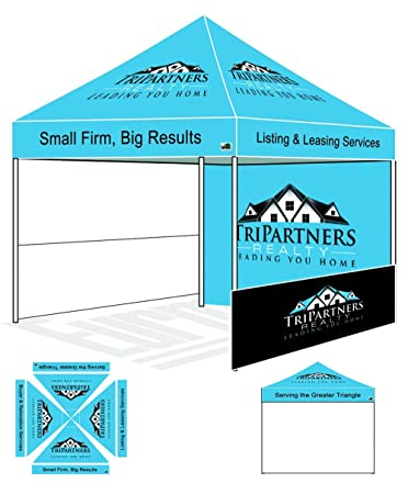 Eurmax PRE Pop up Canopy with Custom Printed Graphics - Instant Canopy Tent Portable Booth with  sc 1 st  Amazon.com & Eurmax PRE Pop up Canopy with Custom Printed Graphics - Instant ...
