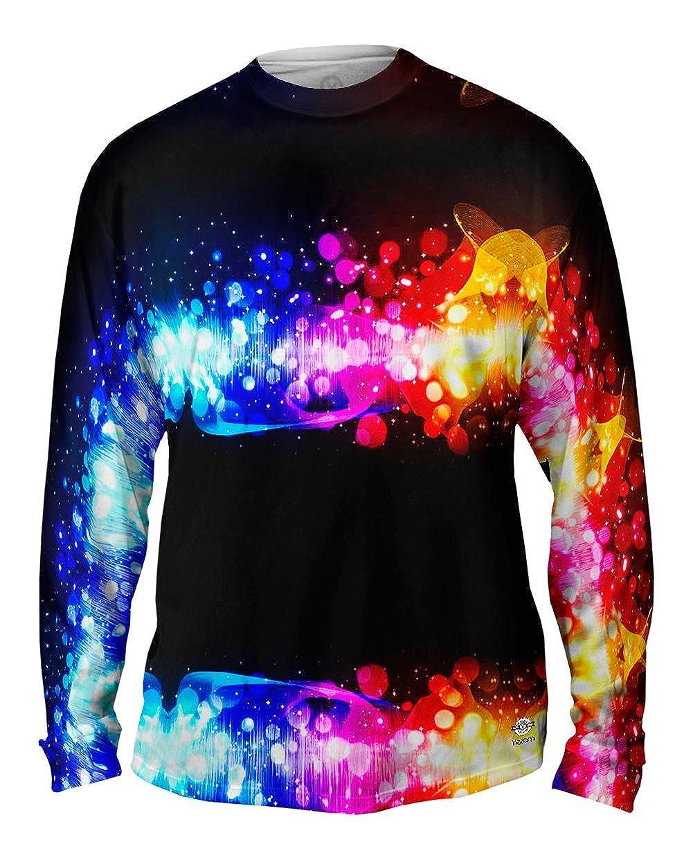 Yizzam Tshirt EDM Dance The Music Mens Long Sleeve