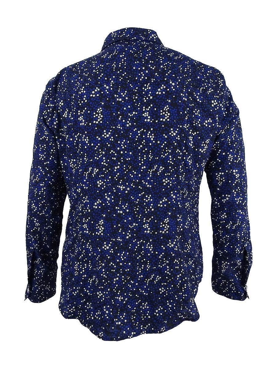 7238aaeadc1 Michael Kors Women s Star Lock Zip Shirt (XXS