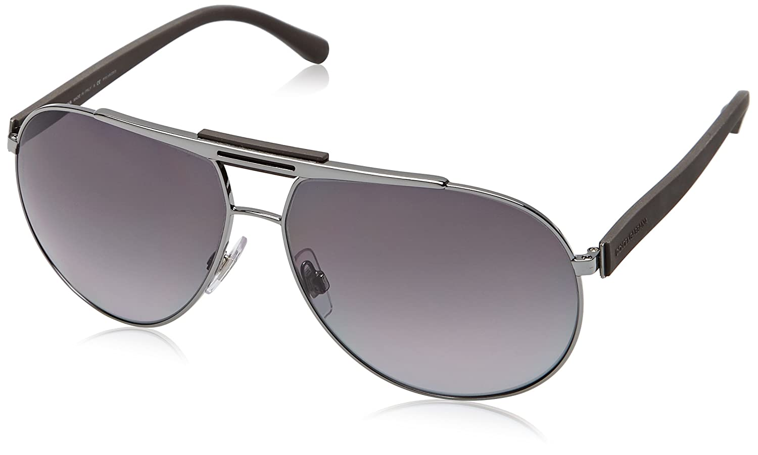 D&G Dolce and Gabbana 0DG2119 Aviator Sunglasses,62 mm