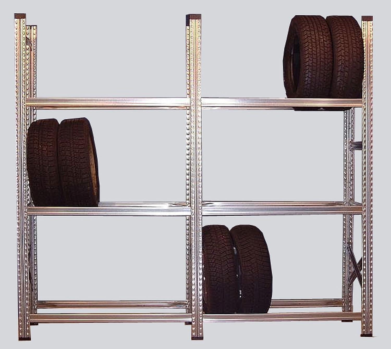 Metalsistem 5 Felder Reifenregal Felgenregal Neu L 535 Cm Für 60 Kompletträder Geeignet Gewerbe Industrie Wissenschaft