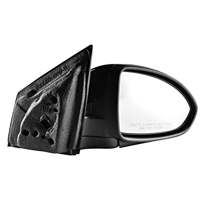 Passenger Side Unpainted Side View Mirror for 2011-2015 Chevrolet Cruze, 2016 Chevrolet Cruze Limited - Power Operated, Manual Folding, Non-Heated - Parts Link #: GM1321420: Automotive