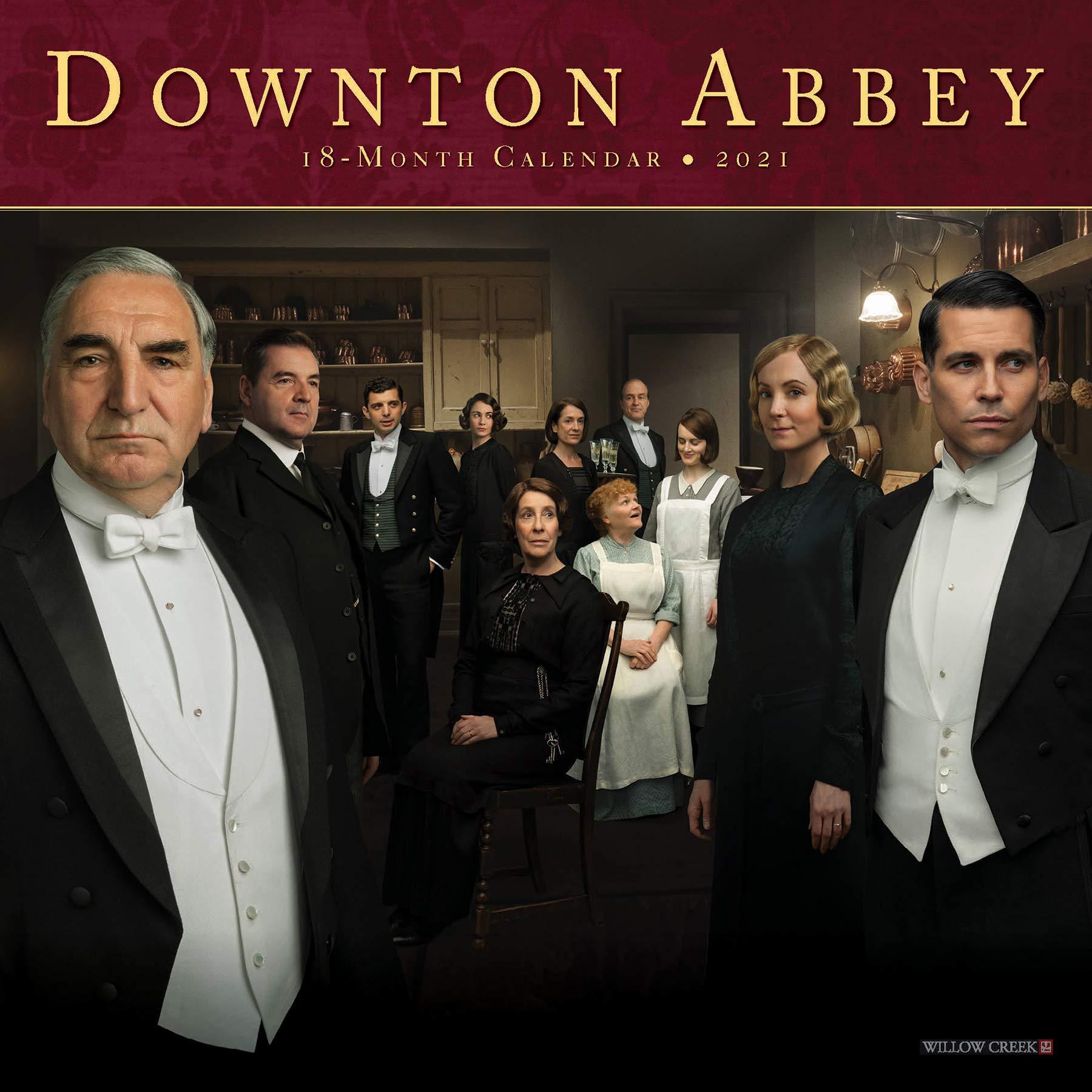 Downton Abbey 2021 Mini Wall Calendar: Fellowes, Julian