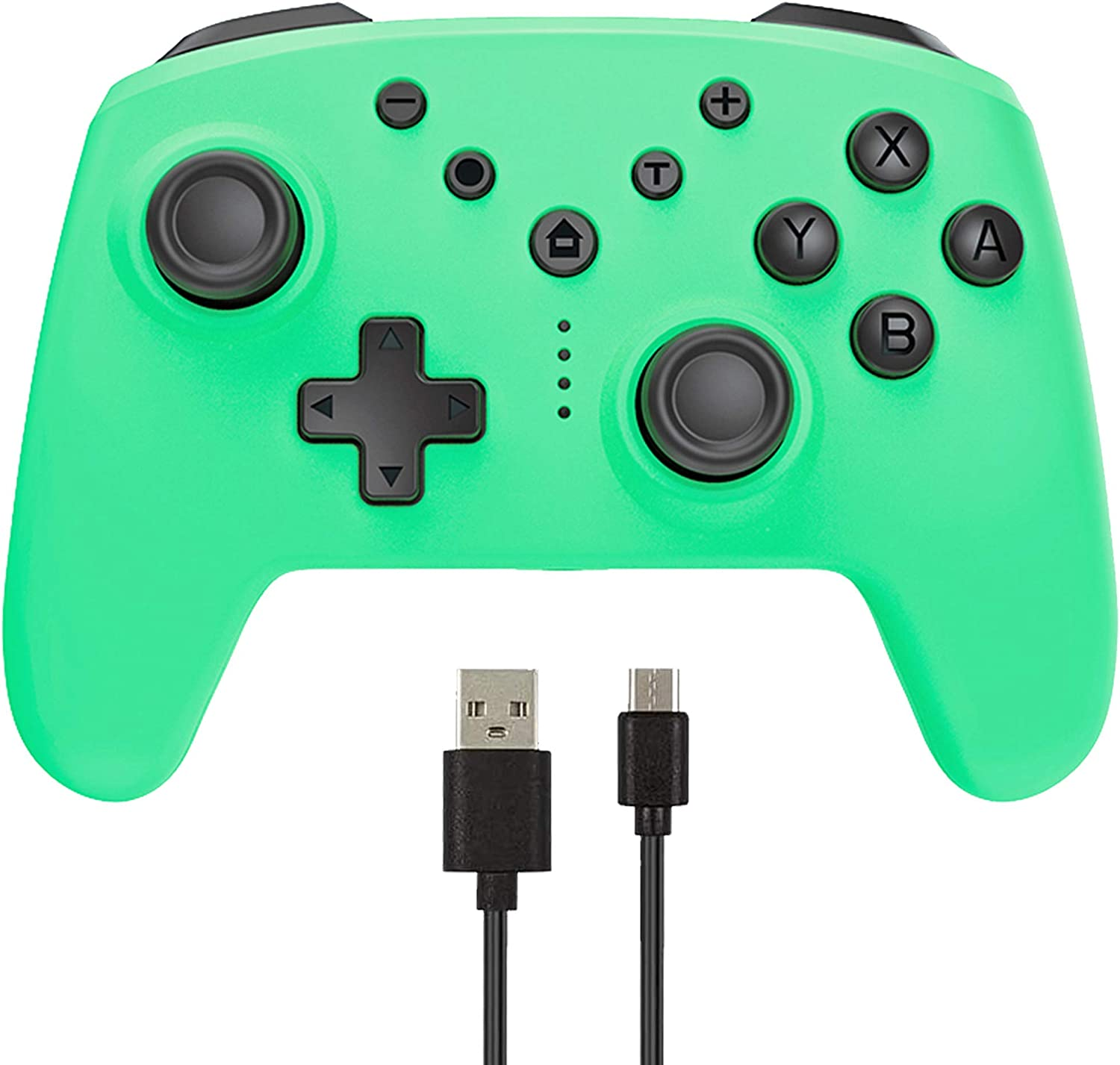 Arrocent Wireless Pro Controller for Switch/Switch Lite – Green