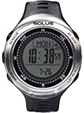 Solus Unisex Digital Watch with LCD Dial Digital Display and Black Plastic or PU Strap SL-110-002