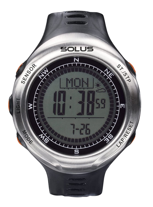 Solus Unisex-Armbanduhr Digital Automatik Kunststoff schwarz SL-110-002