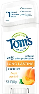 product image for Tom's of Maine, Natural Long Lasting Aluminum Free Deodorant - Fresh Apricot, 2.25 Ounce