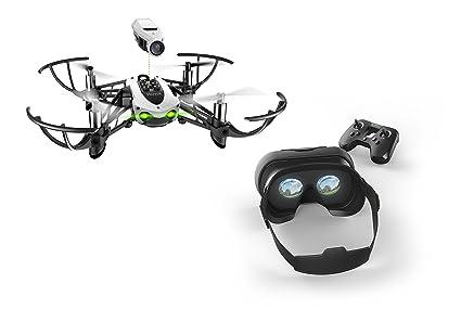 Parrot Mambo FPV - Dron cuadricóptero (HD 720P, 30 Km/h, 10 ...