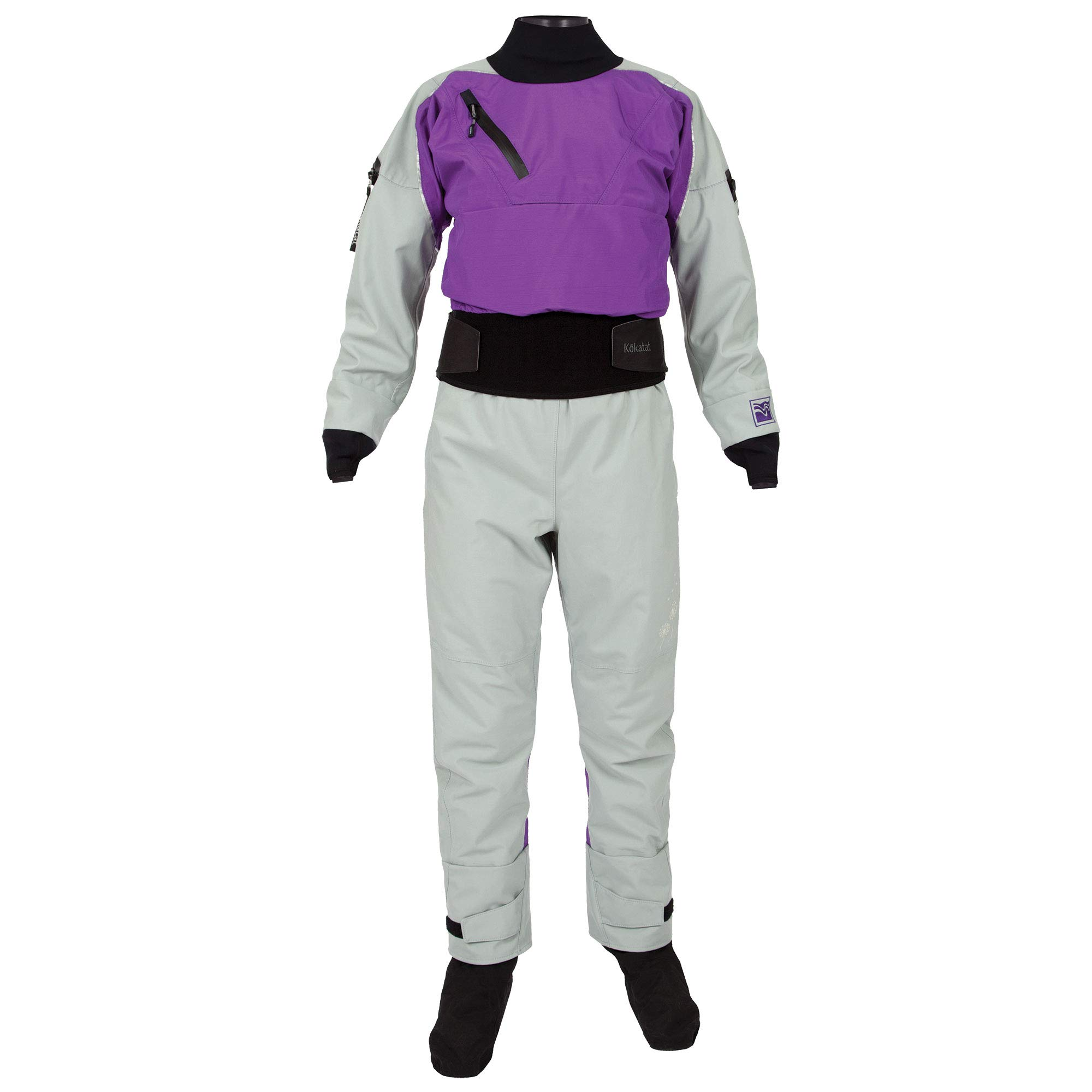 Kokatat Women's Gore-Tex Icon Drysuit-Purple-M by Kokatat