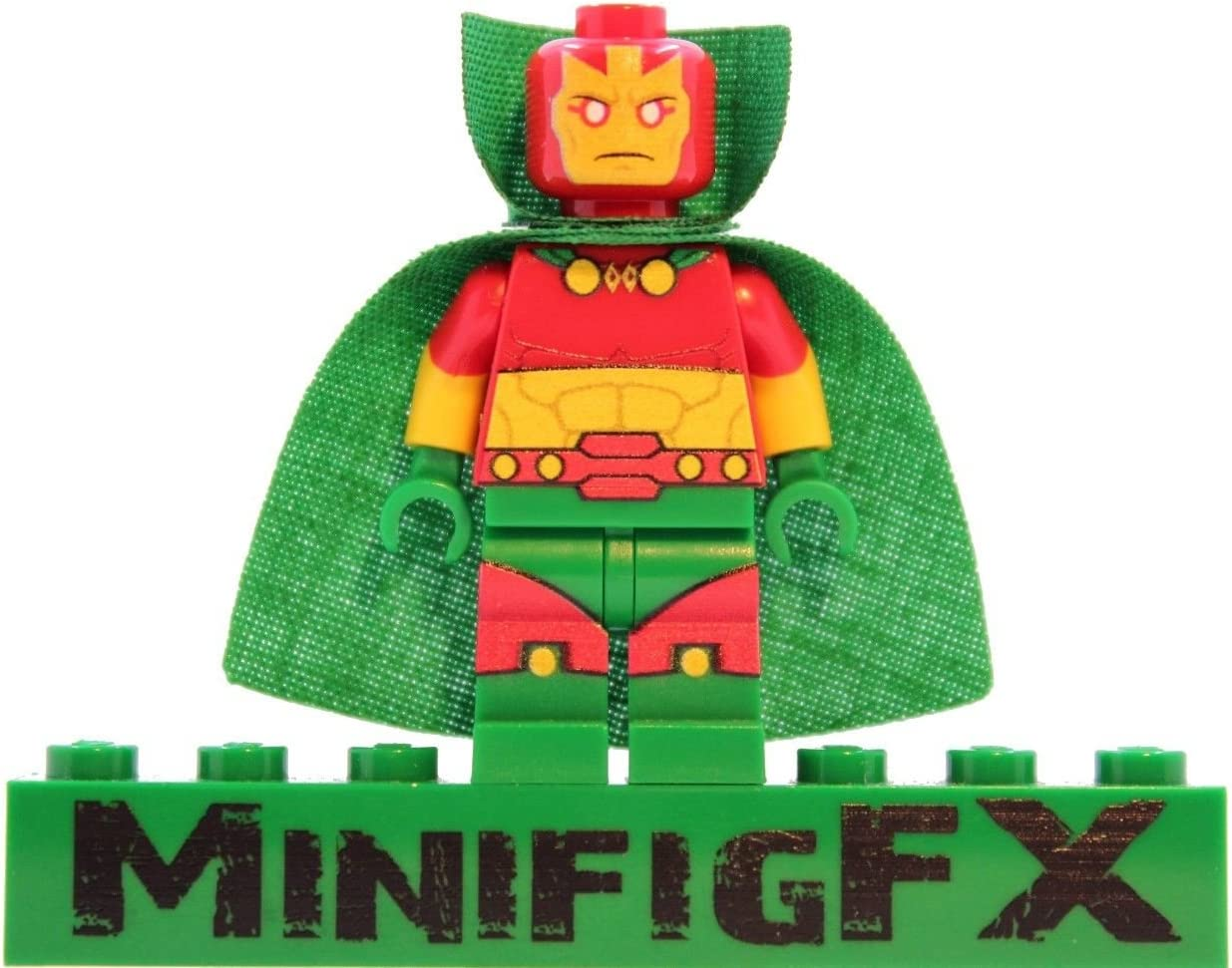 LEGO Mister Miracle Minifig DC Comics Super Hero Scott Free