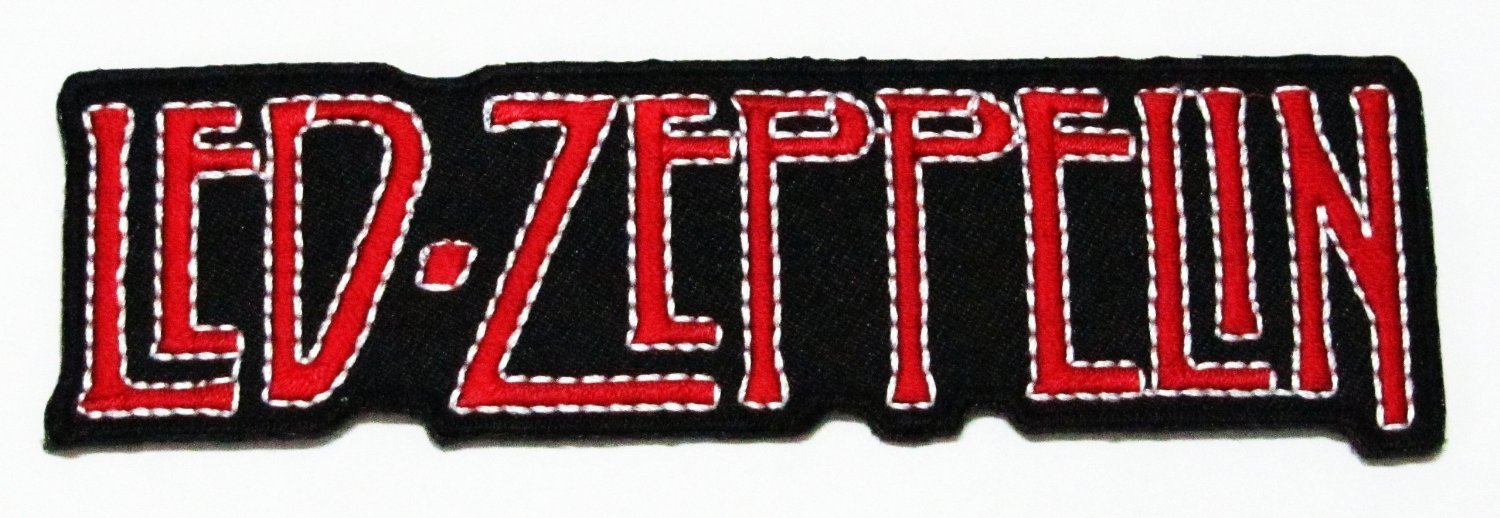 Led Zeppelin Rock Music Band Logo Iron on Patch Great Gifr for Men and Women Uhu