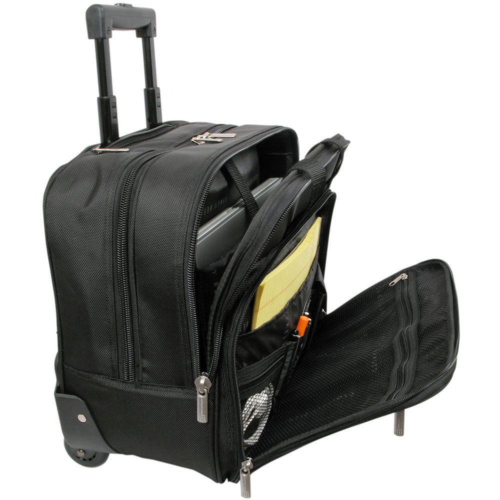 Geoffrey Beene Rolling Business Case, Black, One Size by Geoffrey Beene (Image #2)